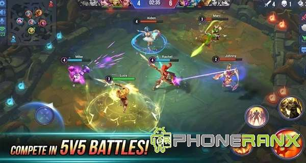 Dungeon Hunter Champions 5v5 MOBA and RPG