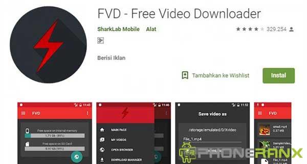FVD-Free Video Downloder
