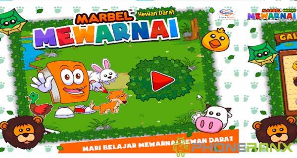 Marbel Mewarnai