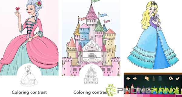 Princess Coloring Books