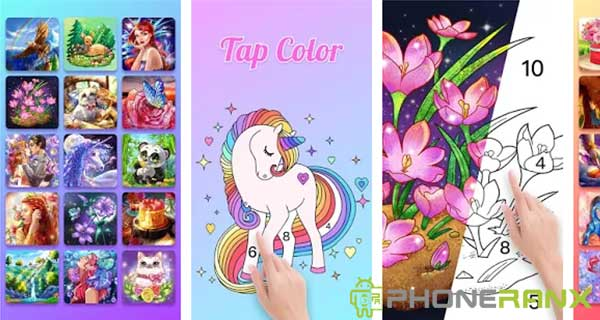 Tap Color Number