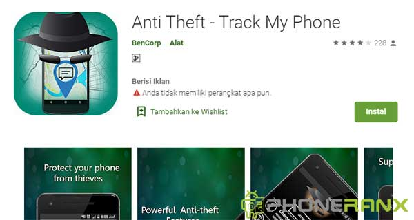 Anti Theft – Track My Phone