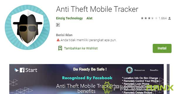 Anti Theft Mobile Tracker