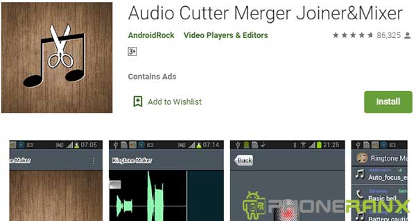 Audio Cutter Merger JoinerMixer