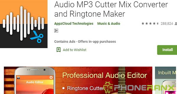 Audio MP3 Cutter