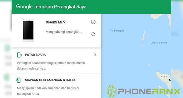 Fitur Google Find My Device