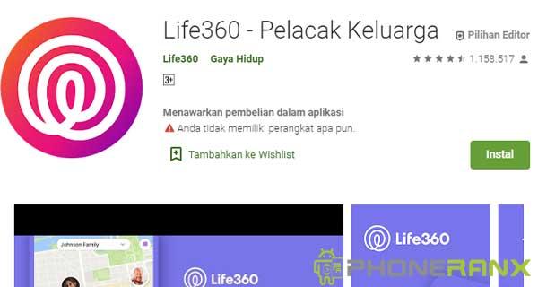 Life360 – Pelacak Keluarga