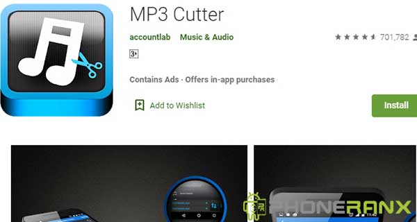 MP3 Cutter Accountlab