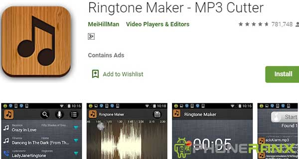 Ringtone Maker – MP3 Cutter