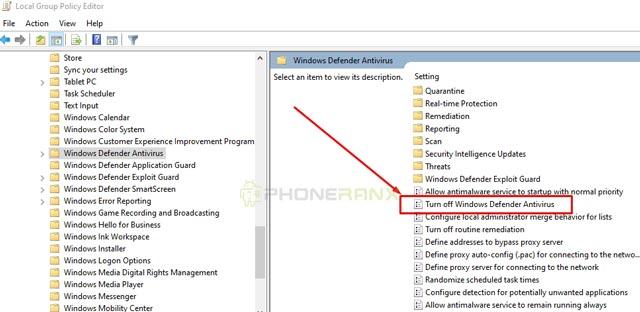 Silahkan kamu lihat dibagian kanan terdapat file yang bernama Turn Off Windows Defender kamu double klik file tersebut.