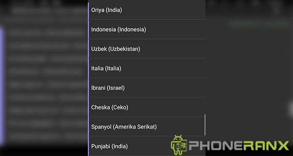 Cara Menambah Bahasa Indonesia dengan Morelocale 2
