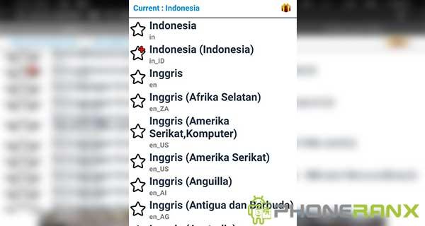 Cara Menambah Bahasa Indonesia dengan Set Locale Language