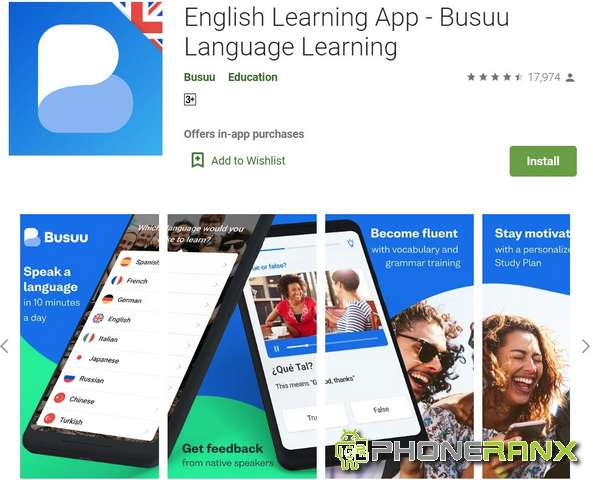 English Learning App Busuu