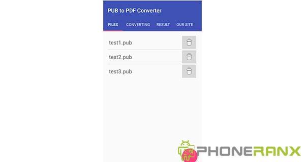 PUB to PDF Converter