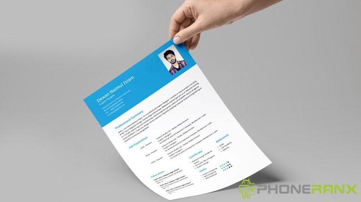 Aplikasi Membuat CV Terbaik