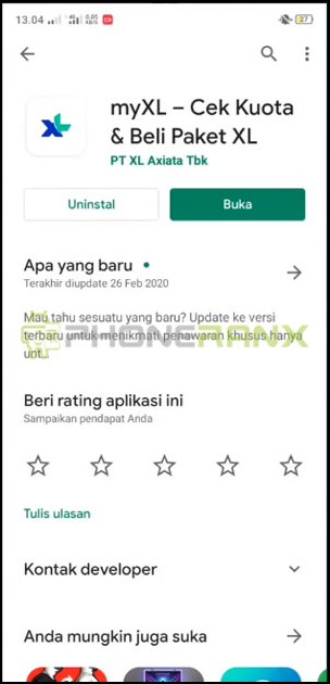 Download Aplikasi myXL 1