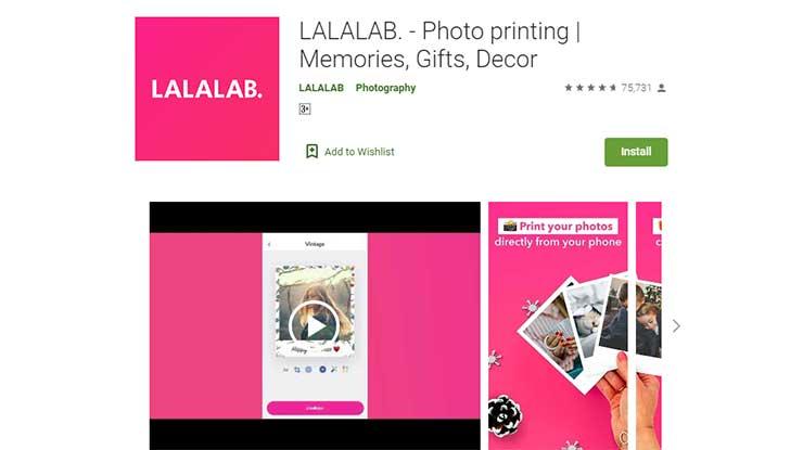 LALALAB Photo printing