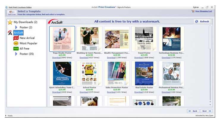 Print Creations ARCSoft