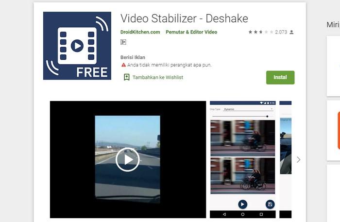 Deshake Video Stabilizer