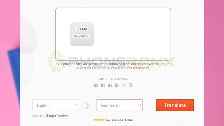 Online Doc Translator