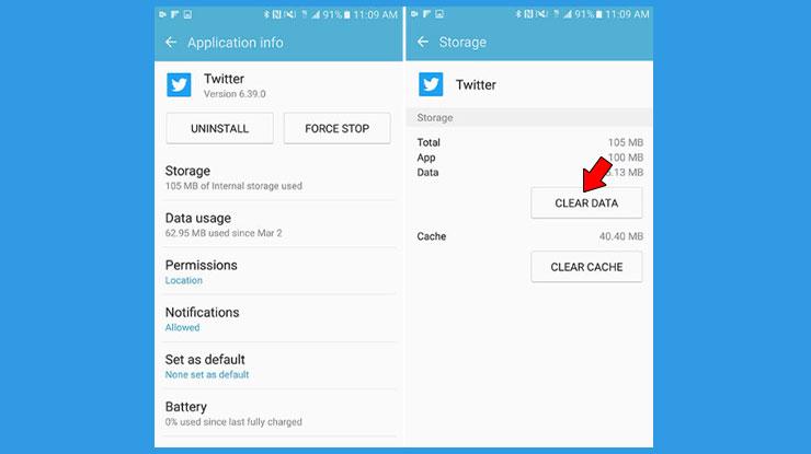 Cara Logout Twitter Aplikasi Android Lewat Pengaturan