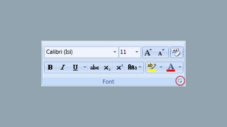 Peluncur Kotak Dialog Font