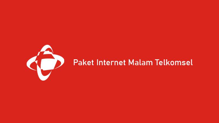 Harga dan Cara Beli Paket Internet Malam Telkomsel
