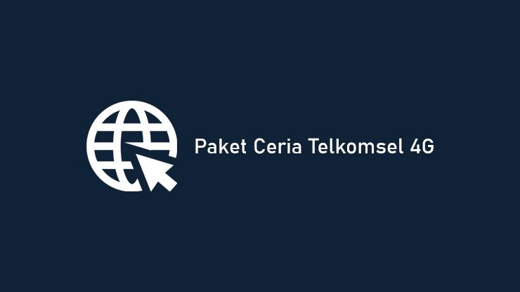 Harga dan Cara Daftar Paket Ceria Telkomsel 4G