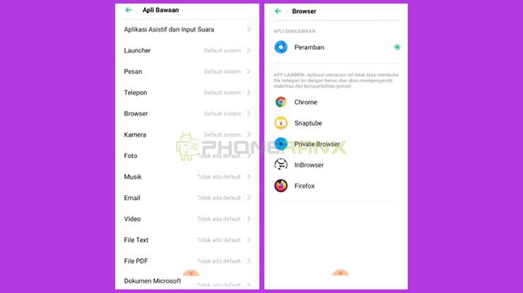 Tips Merubah Browser HP Oppo