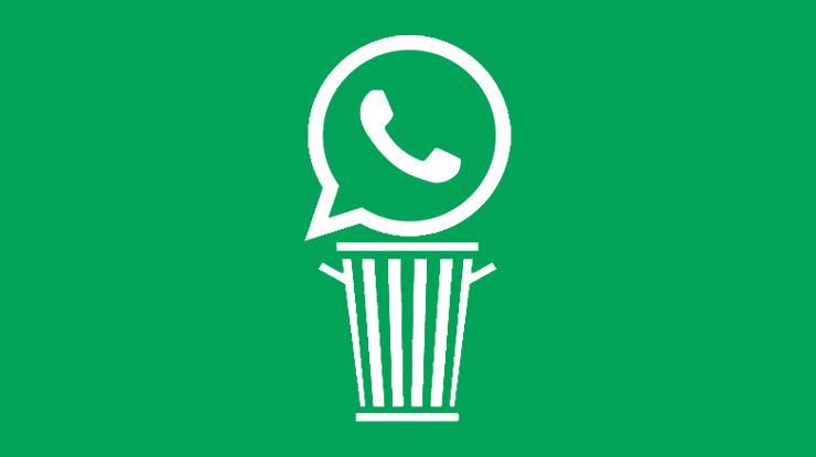 Uninstal Aplikasi WhatsApp