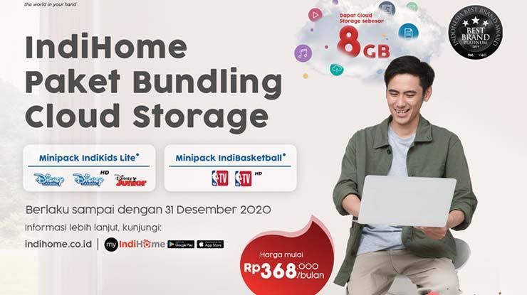IndiHome Paket Bundling Cloud Storage