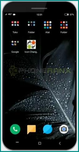2 Buka Aplikasi Icon Changer Free