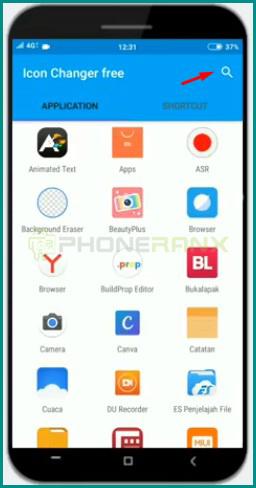 3 Cari Aplikasi Dengan Fitur Search