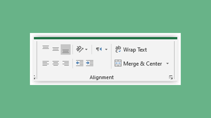 Fungsi Alignment di Microsoft Excel