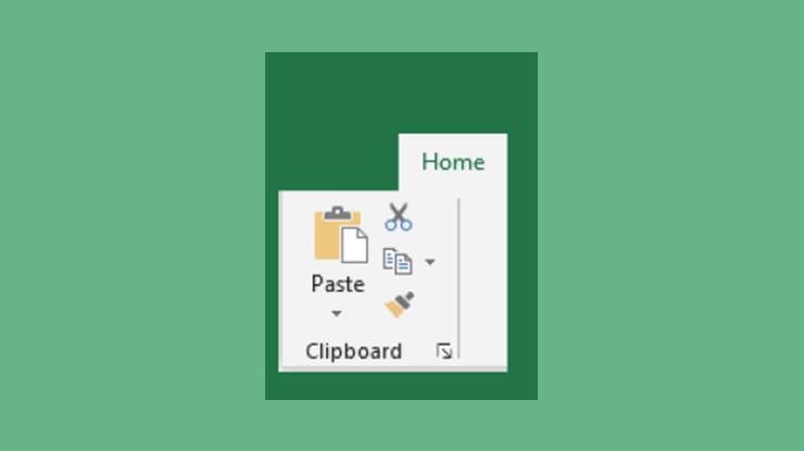 Fungsi Clipboard Pada Menu Home Microsoft Excel