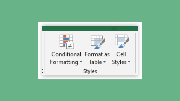 Fungsi Styles di Microsoft Excel