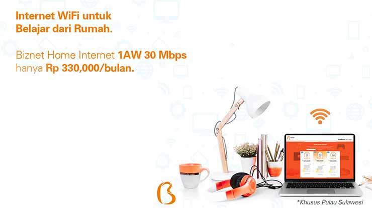 Biznet Home Internet 1AW