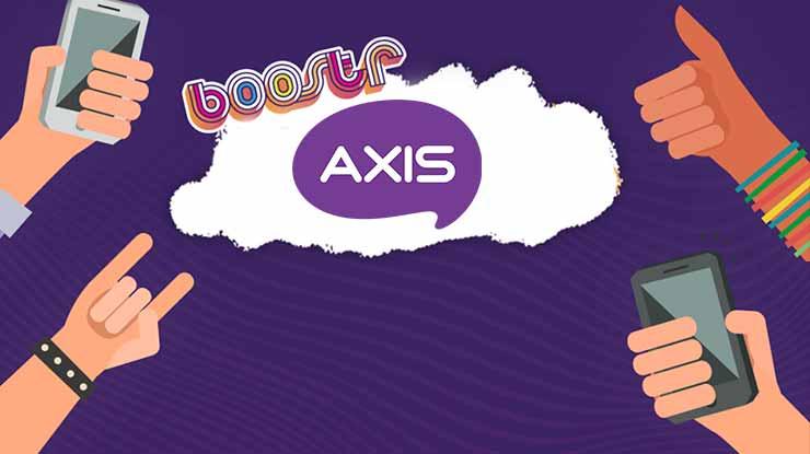 Cara Daftar Paket BOOSTR Axis
