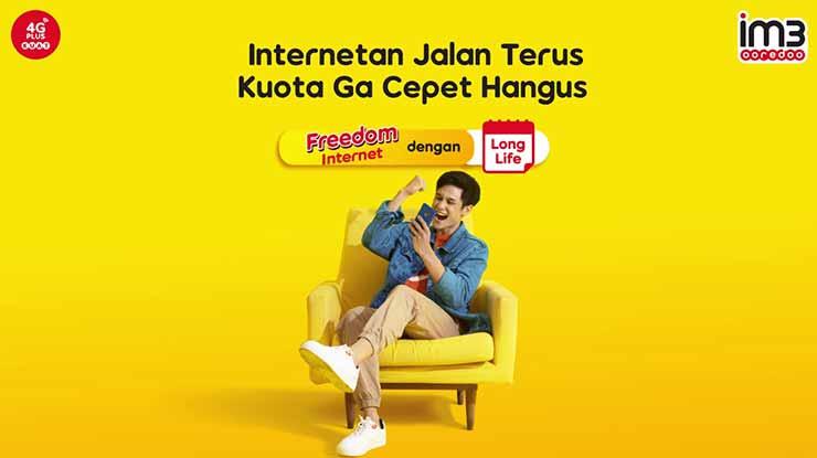 Harga Paket Freedom Internet Longlife Indosat