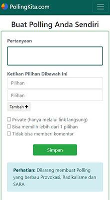 Pollingkita di WhatsApp