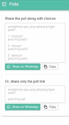 buat polling online