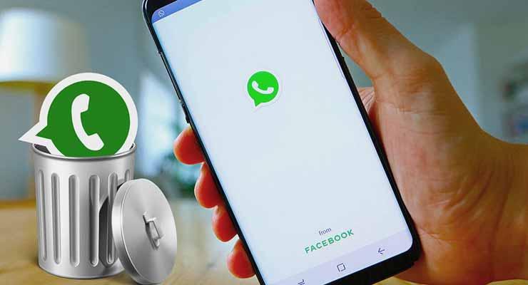 Akibat Hapus WhatsApp