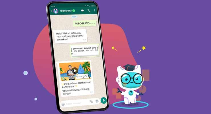 Apa itu Roboguru WhatsApp