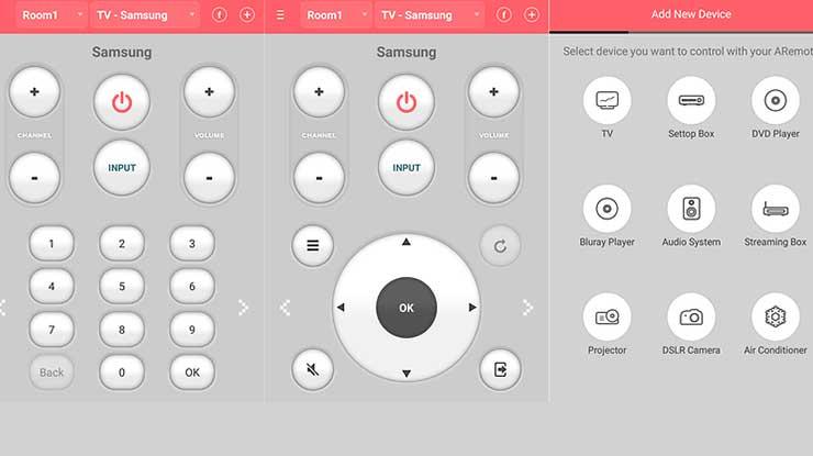 Aplikasi ASmart Remote IR