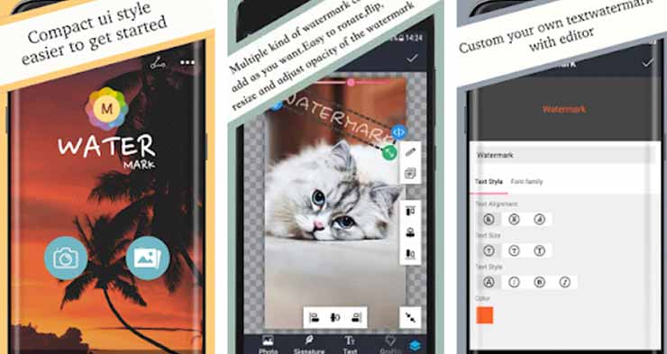Aplikasi Photo Watermark Android