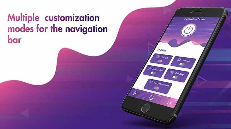 aplikasi pengganti tombol Navigation