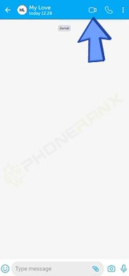 Video Call Aplikasi BiP