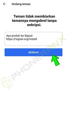 apakah aplikasi signal aman