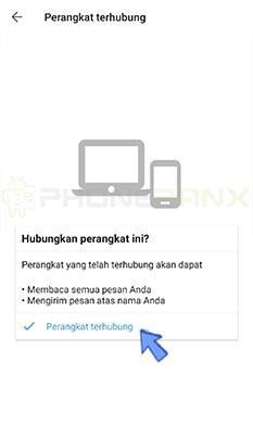cara Signal messenger web