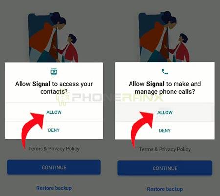 grup WhatsApp ke Signal